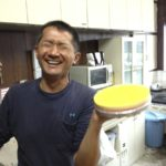 ボンパルクさんのスクラップ片付け、お礼にケーキを頂きました☆