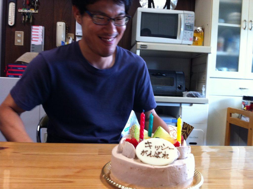 岸本くん、35歳の誕生日☆