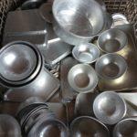 アルミ製の食器類、買い取りラッシュ☆