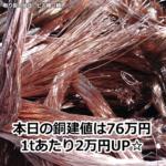 【銅相場情報2013.10.15】