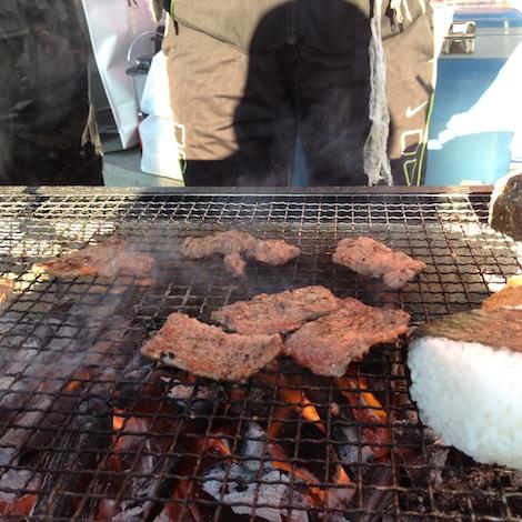 早朝から焼き肉タイム