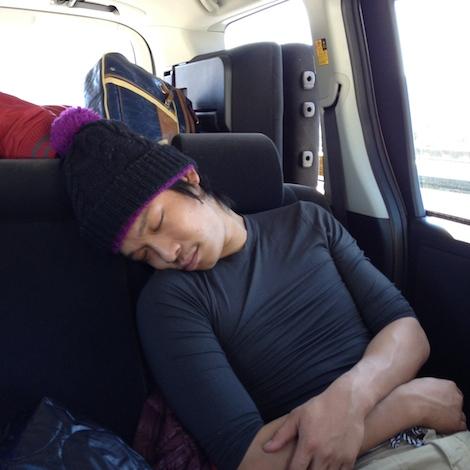 安らかな翔の寝顔です。