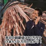 【銅相場情報2013.12.19】ピカ線