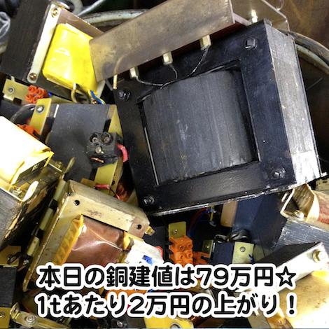 【銅相場情報2014.2.10】トランスコアのお写真