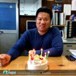 Happy Birthday 社長!