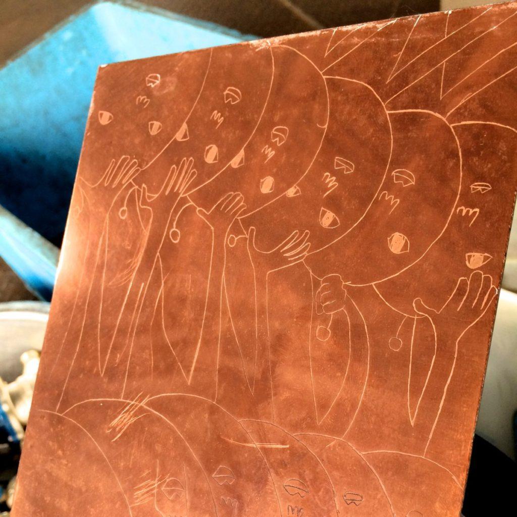 【銅相場情報2014.9.5】銅版画アート!スクラップにするには勿体ない☆