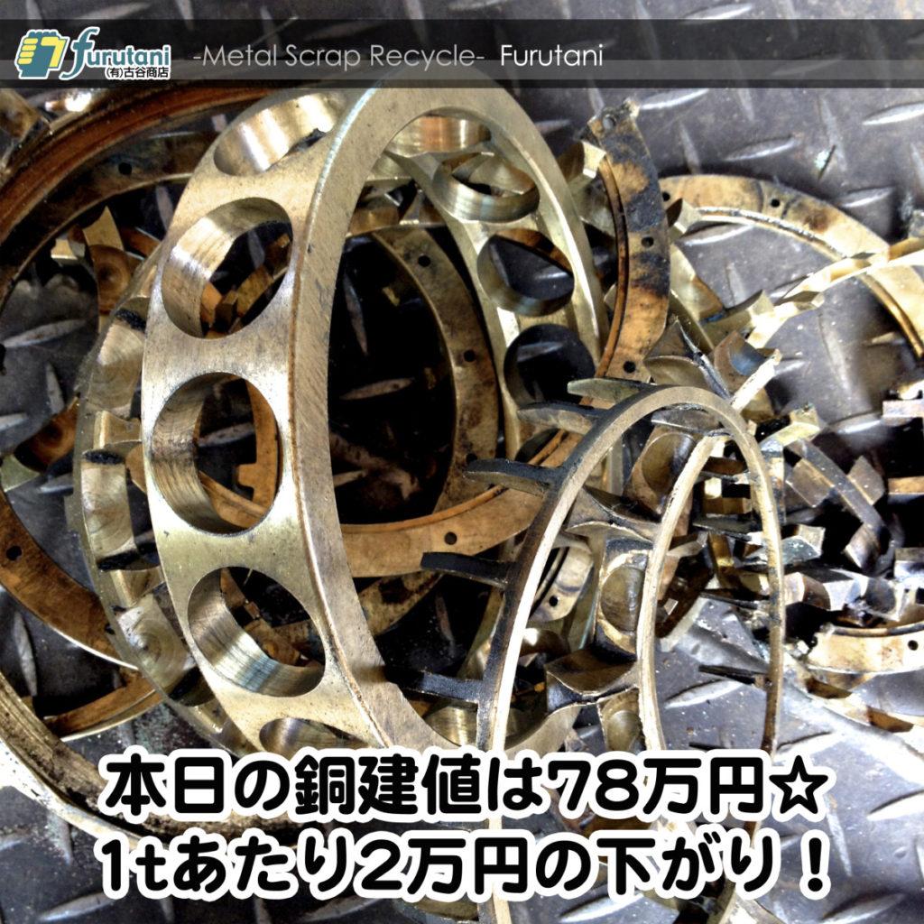 【銅相場情報2014.9.22】高力黄銅とアルミ青銅のお話