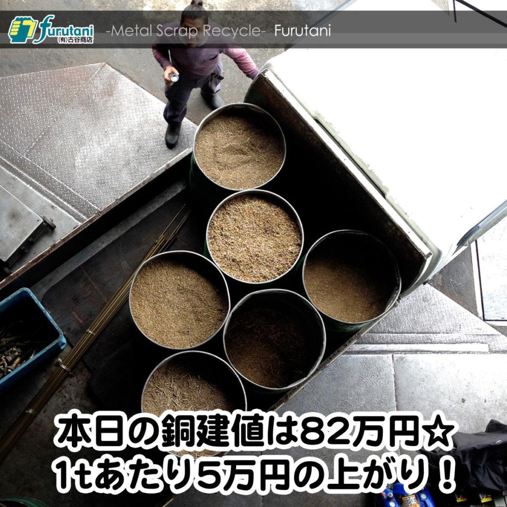【銅相場情報2014.11.4】11月最初の変動は5万UPだぜ!