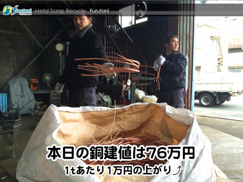 【銅相場情報2015.3.10】電気工事、空調工事は動き出してるぞ!