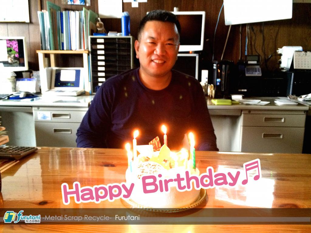 【 Happy Birthday!! 親方!! 】これからも宜しくお願いします!!