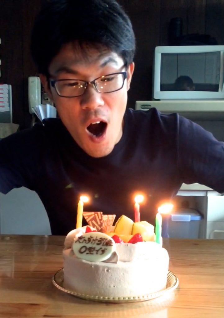 きっしー、37歳の誕生日☆チョコに隠された驚愕の新事実とは?