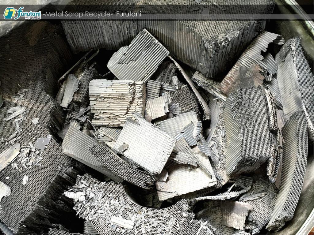 メタルハニカムのリサイクルもやってます☆