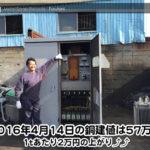 【銅相場情報 2016.4.14】変電設備キュービクル入荷しました(^ー^)