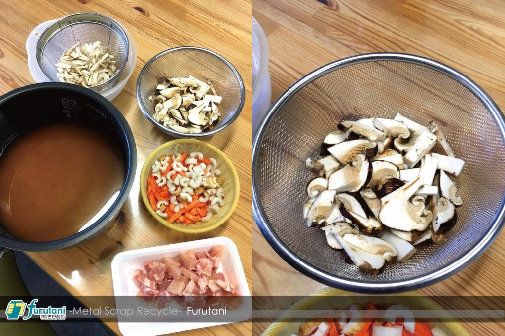 秋を先取り!戦利品の松茸で炊き込みごはん!