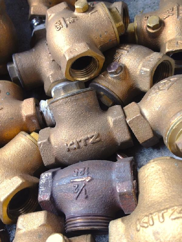 真鍮(黄銅)/砲金(青銅)バルブ・継ぎ手類