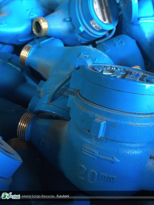 砲金水道メーター・真鍮水道メーター・量水器