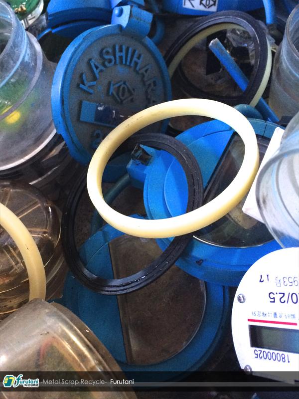 水道メーターの不純物