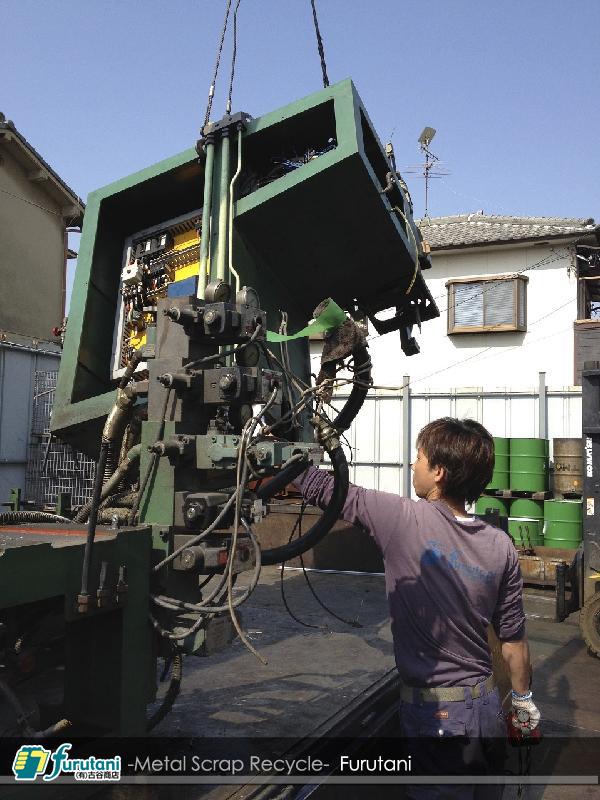 工作機械類スクラップ