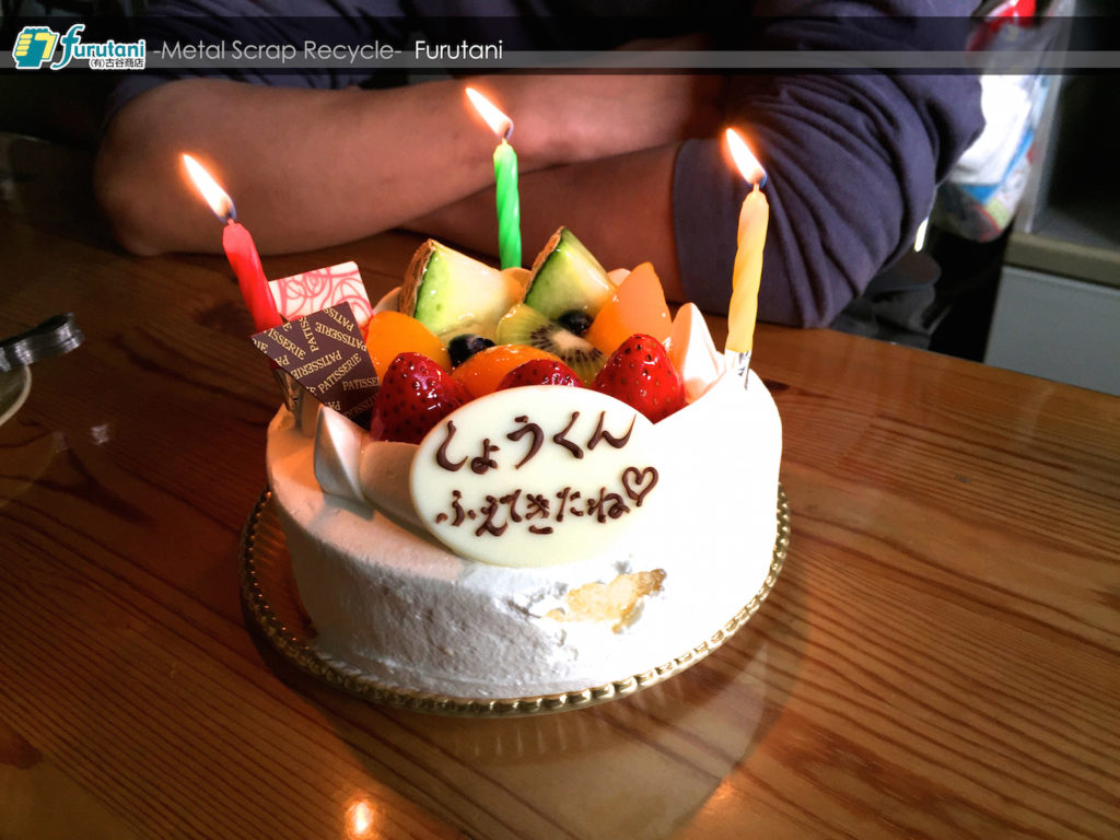 Happy Birthday!! 翔くん♬(^▽^)