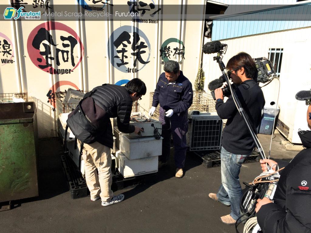 NHK【所さん!・大変ですよ!】の取材を受けました♬(^▽^)