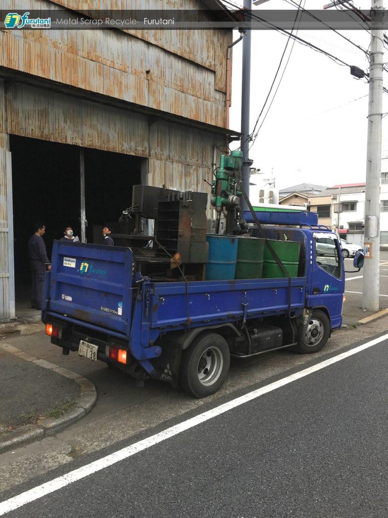 堺市にて廃業した鉄工所のお片付けのお仕事!