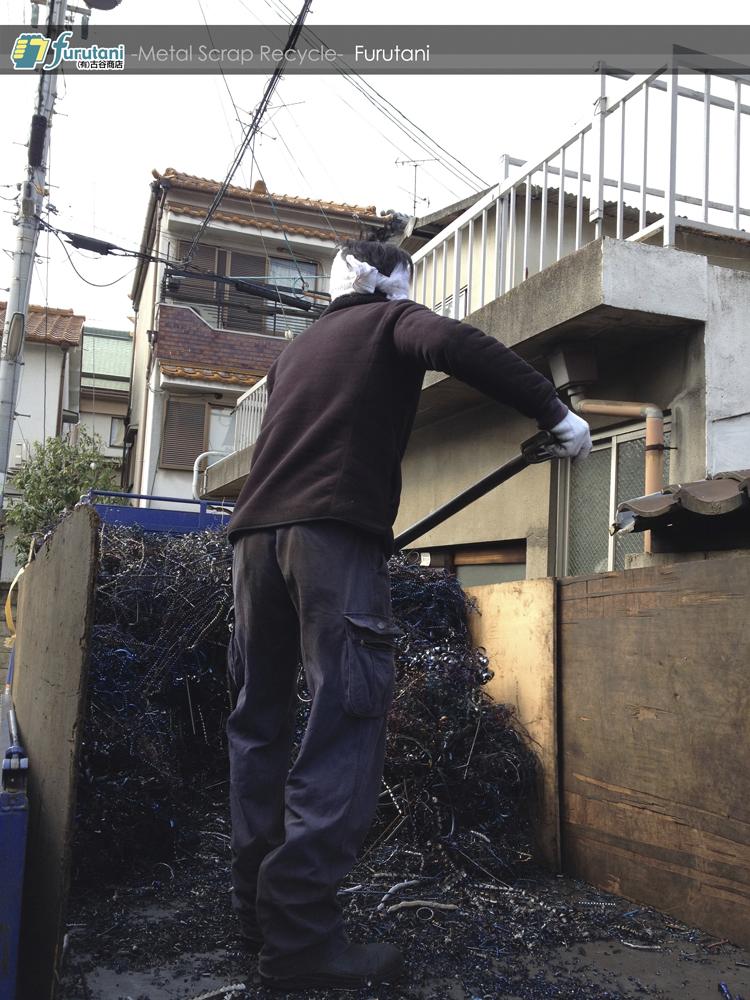 いざ!ダライ粉の回収作業!【バラ置き手積み編】