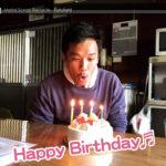 スタッフ翔くん、31歳のBirthday♬(^▽^)