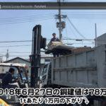 【銅建値情報 2018.6.27】1tあたり1万円下がりの78万円に改定☆⤵