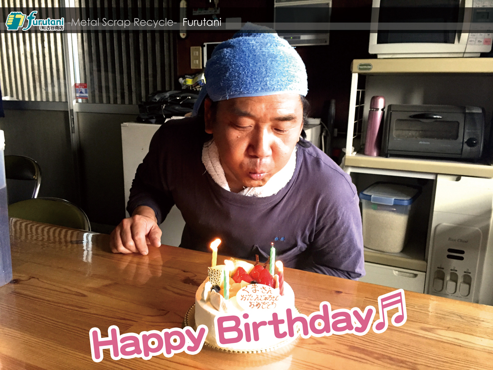 スタッフくまさんのBirthday♬ 誕生日おめでとう!