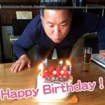 親方、48歳のBirthday!!♫