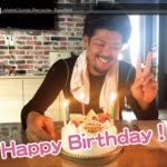 駿33歳の誕生日1